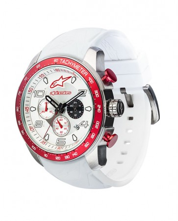 TECH WATCH MULTIFUNCTION-WHITE/RED