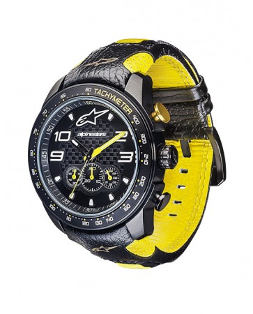 TECH WATCH CHRONO YELLOW