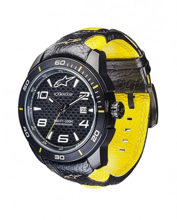 TECH WATCH 3H BLACK/YELLOW