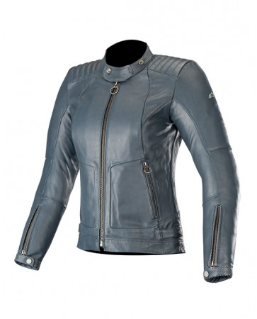 GAL WOMEN`S LEATHER JACKET