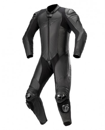 GP PLUS V3 GRAPHITE LEATHER SUIT